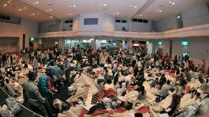 The Yokota Shelter in Japan