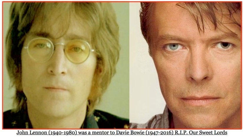 David Bowie (1947-2016) Describes His Mentoring Relationship with John Lennon (1940-1980)