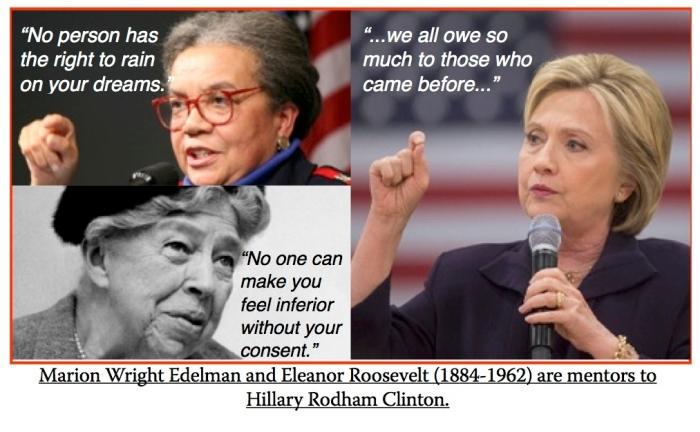 Edelman-Roosevelt-Clinton